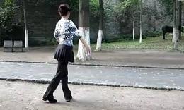 形体舞《梁祝》背面教学