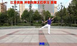 心中的康巴红 神韵队原创舞 神韵个人版 附:囗令分解与背面示范.