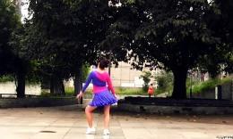 舞动亚洲之兴梅广场舞原创舞蹈《我的新娘》正背面演示 分解教学...