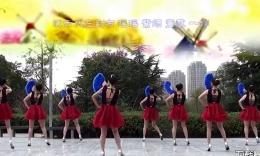 茉莉广场舞《夜来香》原创正反面教学演示含分解第十四...