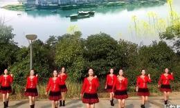 太依赖(队形版)  江西鄱阳春英广场舞