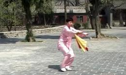 杨式太极刀 全套正面演练