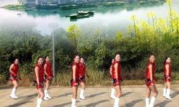 鄱阳朱家桥广场舞--《小苹果》比赛版