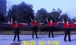 安庆雪舞飞扬健身队广场舞     广场舞 因为爱着你  编舞 春英...