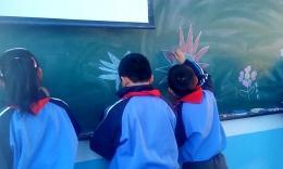 云山小学三年级美术课简笔画训练