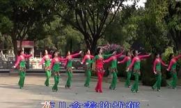 舞姿轻盈广场舞 山谷里的思念 团队版编舞神韵,...